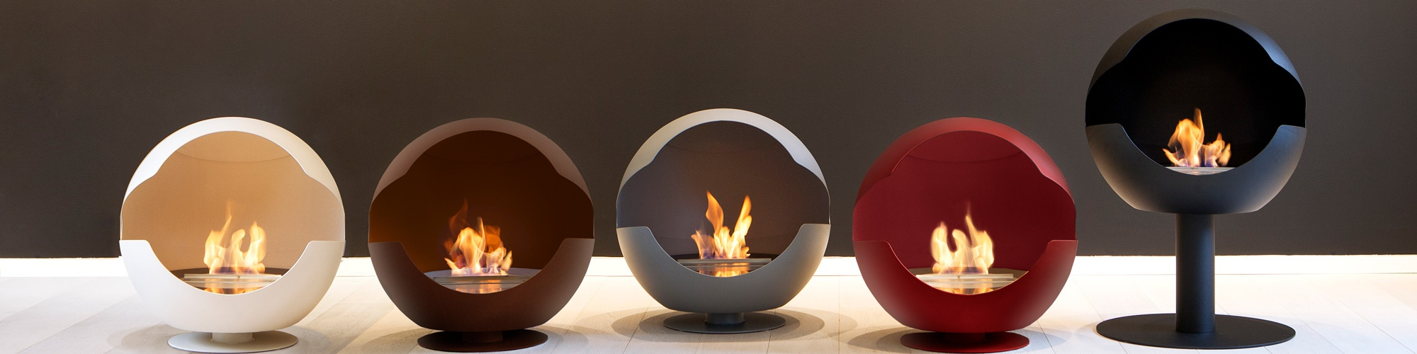 Vauni Bio Fireplaces From A Swedish Producer Cupola And