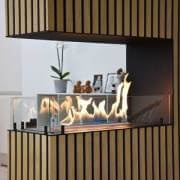 Automatic built in bioethanol fireplace