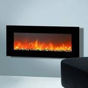 Wall-mounted Electric LED Fireplace