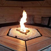 Do it yourself outdoor fireplace