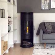 Freestanding bio fireplace