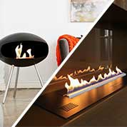Manaul and automatic fireplace