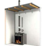 Installation of gas fireplaces