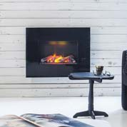 wall mounted opti myst fire