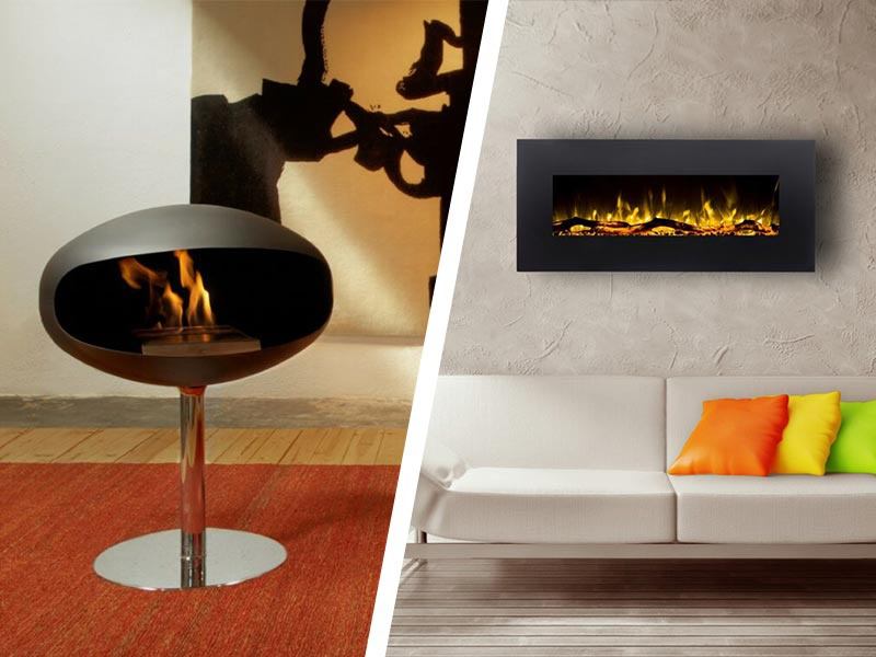 Electric or bioethanol fireplace: Which type is the right choice?