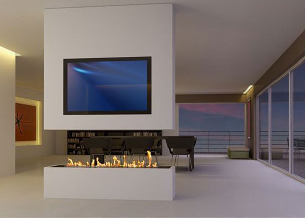 Room size and bioethanol fireplaces