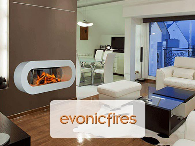 Evonic Fires Electric Fireplace