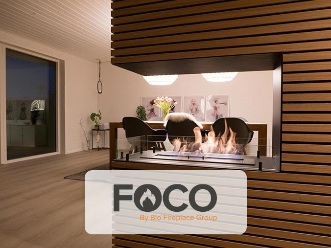 Foco by bio fireplace group