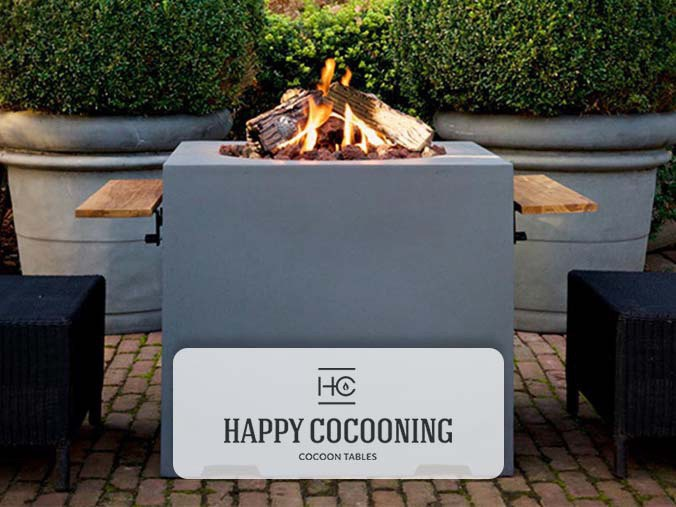 Happy Cocooning Cocoon Tables