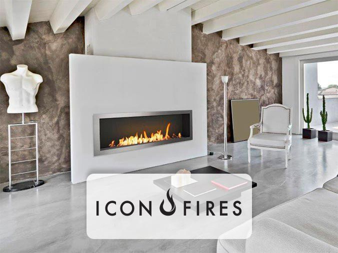 Icon Fires bioethanol fireplaces