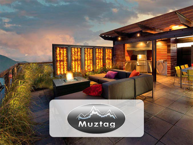 Muztag gas patio heaters