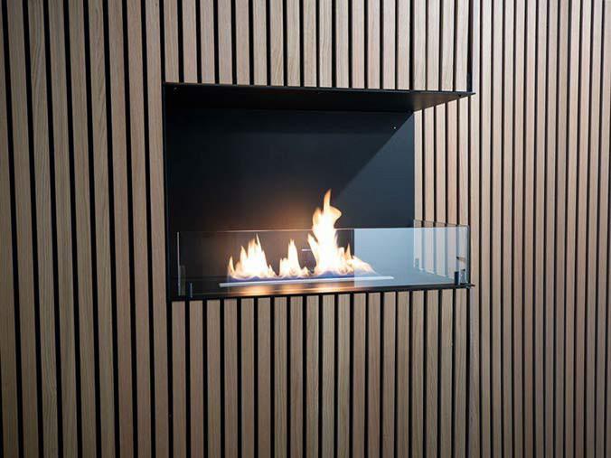 Corner Fireplace For Bio Ethanol Two, Bio Ethanol Corner Fireplace