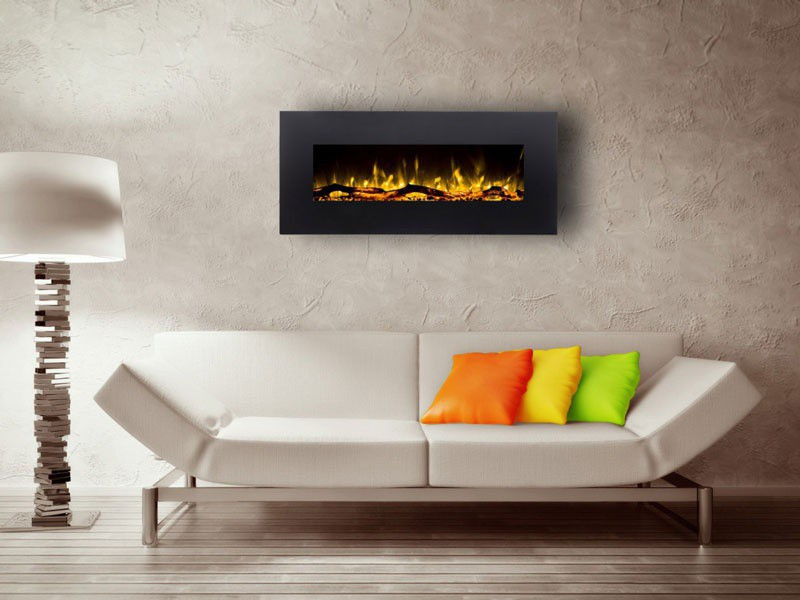 Electric LED Fireplace