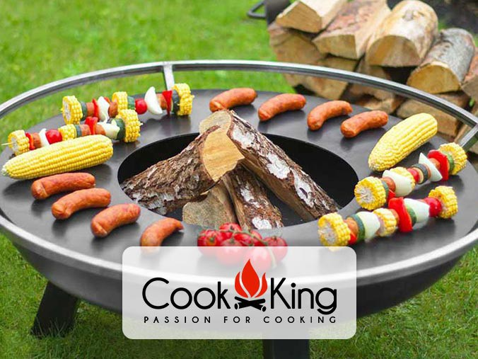 Outdoor fire pit from Cookking