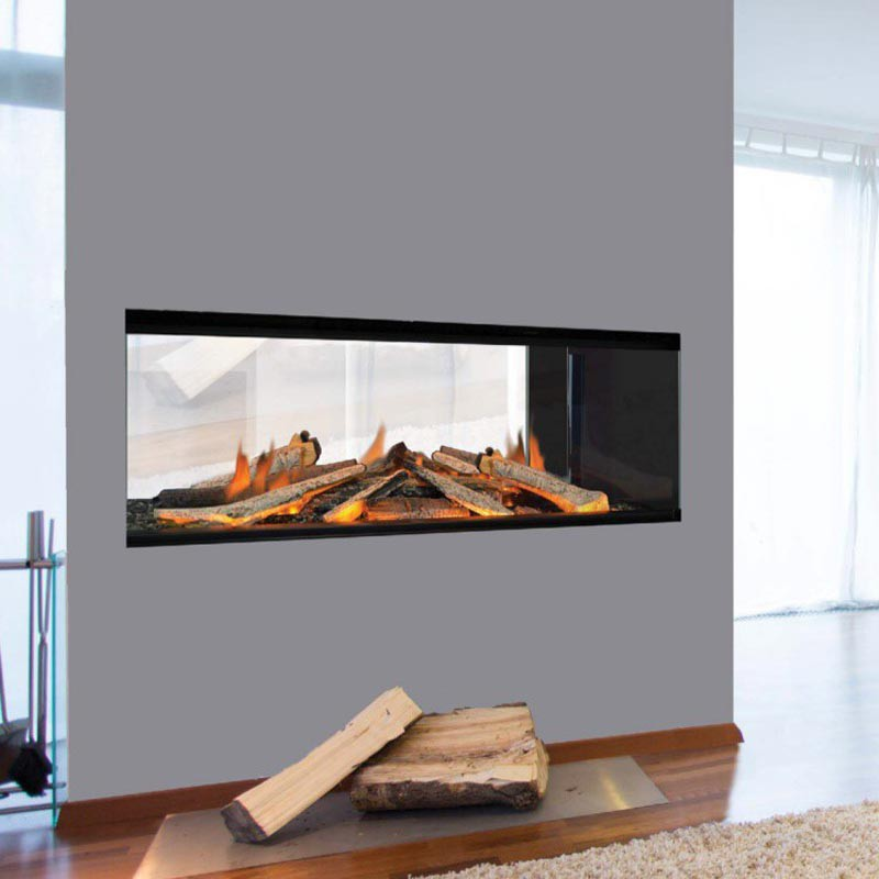 Two Sided E1030ds Electric Fireplace, Electric Corner Fireplace Uk