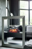 Free standing water fireplace Boxx