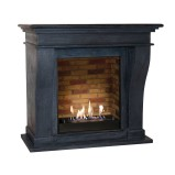 Xaralyn Kreta Mini bio fireplace in black