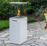 Fuora Q Spartherm outdoor gas fireplace