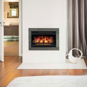 LED 3D built in fireplace for electricity