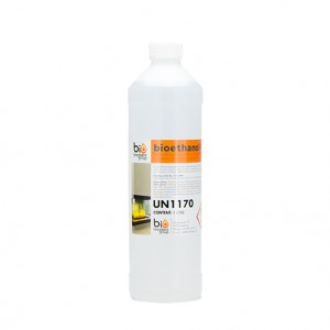 1L bottle of liquid bio ethanol fuel, fully approved and certified. Manufactured in Germany.