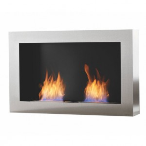 Cubico DL wall hanging bio fire from Safretti