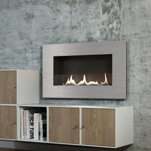Oxford 600 hanging wall fireplace