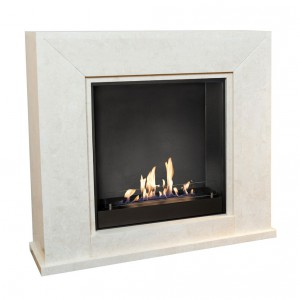 Classic bio fireplace in a design that will fit most homes. the 2.0L burner provides a maximum burn time of up to 4h.