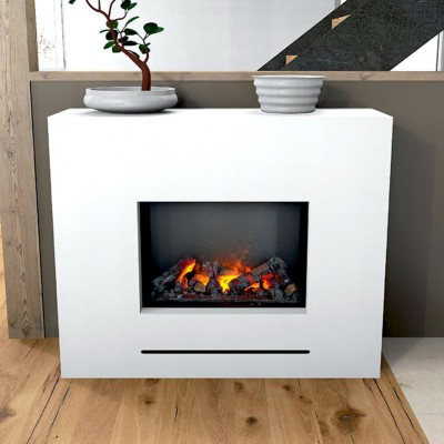 Lessing Water Vapor Fireplace With Opti Myst Glow Fire